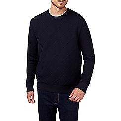 Burton - Navy cable sweatshirt