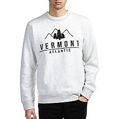 Burton - Grey vermont printed sweatshirt