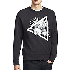 Burton - Black floral sweatshirt
