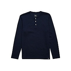 Burton - Navy long sleeve top