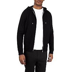 Burton - Black ottoman hoodie