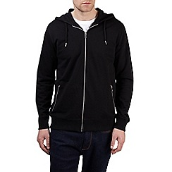 Burton - Black zip through hoodie