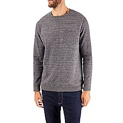 Burton - Grey textured sweatshirt