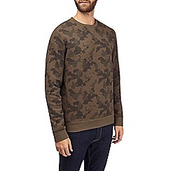 Burton - Khaki camouflage sweatshirt