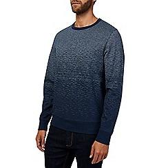 Burton - Navy ombre sweatshirt