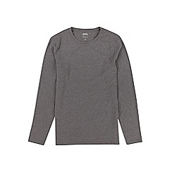 Burton - Charcoal muscle fit long sleeve t-shirt