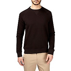 Burton - Black crew neck sweatshirt