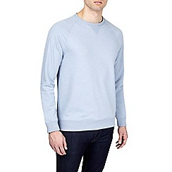 Burton - Light blue crew neck sweatshirt