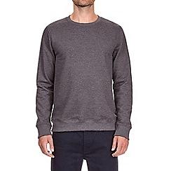 Burton - Charcoal crew neck sweatshirt