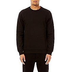 Burton - Black crew neck sweatshirt