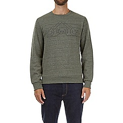 Burton - Forest green high build sweatshirt