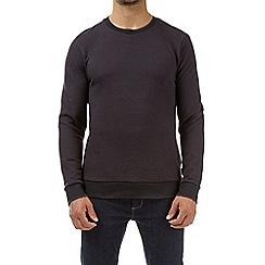 Burton - Purple smart twill sweatshirt