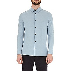 Burton - Blue fog two tone long sleeve shirt