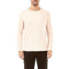 Burton - Pink mini waffle long sleeve t-shirt