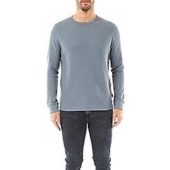 Burton - 2 pack white and blue fog mini waffle long sleeve t-shirts