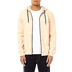 Burton - Coral zip-through hoodie