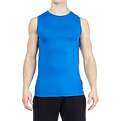HIIT - Blue mesh panelled vest