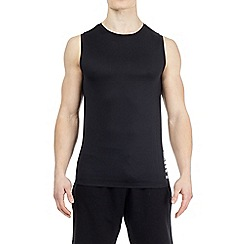 HIIT - Black mesh panelled vest