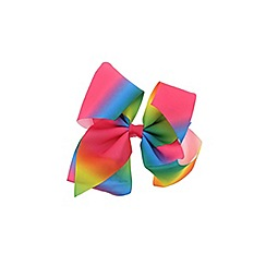 Outfit Kids - Girls' multi coloured large bow clip