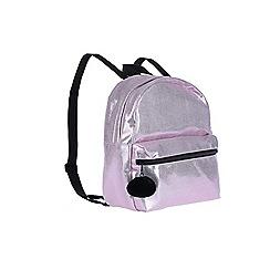 Outfit Kids - Girls' pink shimmer rucksack