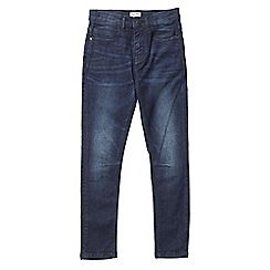 Outfit Kids - Boys' navy dark wash skinny fit jeans