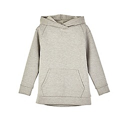 Outfit Kids - Boys' grey oversized hoodie