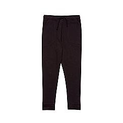 Outfit Kids - Boys' black ottoman joggers