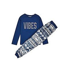 Outfit Kids - Boys'  'Vibes' fair isle pyjama set