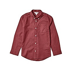 Outfit Kids - Boys' burgundy long sleeve oxford shirt