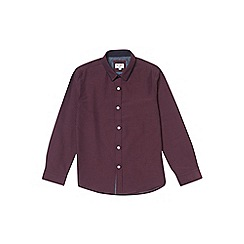 Outfit Kids - Boys' burgundy double collar shirt