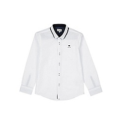 Outfit Kids - Boys' white long sleeve poplin shirt
