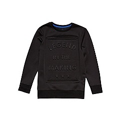 Outfit Kids - Boys' black 'Legend In The Making' sweatshirt