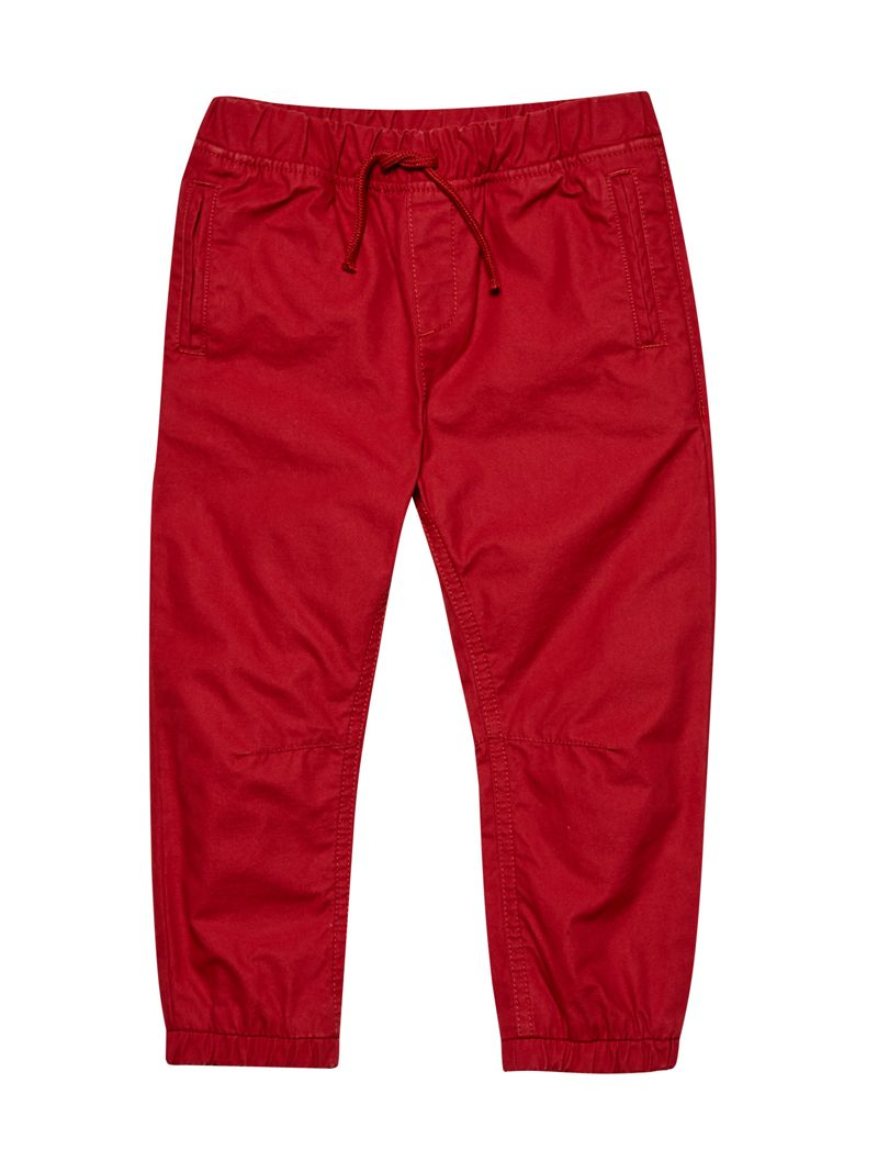 Outfit Kids - Boys Red Combat Trousers