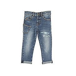 Outfit Kids - Boys' mid blue ripped jeans