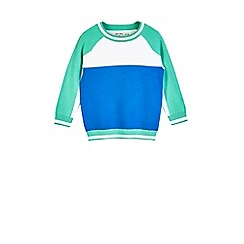 Outfit Kids - Boys' colour block knitted jumper