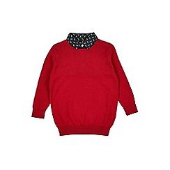 Outfit Kids - Boys' red lightening bolt shirt