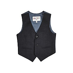 Outfit Kids - Boys' grey tipped waistcoat