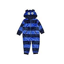 Outfit Kids - Boys' navy robot onesie