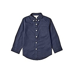 Outfit Kids - Boys' navy long sleeve oxford shirt