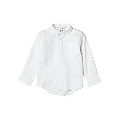 Outfit Kids - Boys' white long sleeve oxford shirt