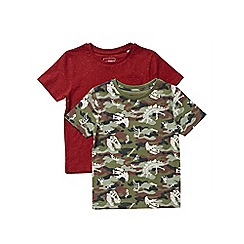 Outfit Kids - 2 pack boys' assorted short sleeve t-shirts