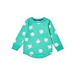 Outfit Kids - Boys' green lightweight sweatshirt