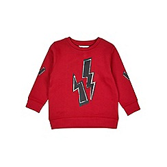 Outfit Kids - Boys' red lightning sweatshirt