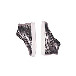 Outfit Kids - Girls' silver high tops