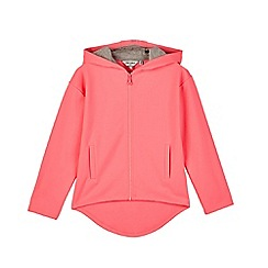 Outfit Kids - Girls' neon pink scuba sports hoodie