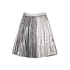 Outfit Kids - Girls' silver metallic skirt