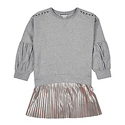 Outfit Kids - Girls' grey pleated dress