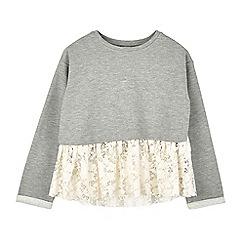 Outfit Kids - Girls' grey sweatshirt