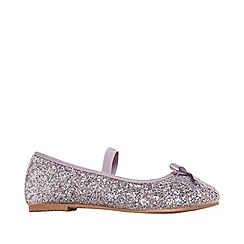 Outfit Kids - Girls' silver ballerina shoes