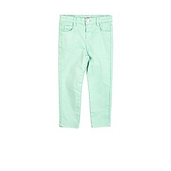 Outfit Kids - Girls' green wash jeans